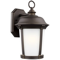 Sea Gull 8750701-71 Calder 1 Light 17 inch Antique Bronze Outdoor Wall Lantern