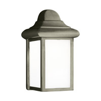 Sea Gull 8788-155 Mullberry Hill 1 Light 9 inch Pewter Outdoor Wall Lantern