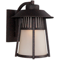 Sea Gull Hamilton Heights 1 Light Outdoor Wall Lantern in Oxford Bronze 8811701-746