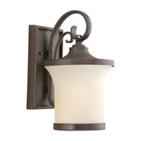 Sea Gull Lighting Del Prato 1 Light Outdoor Wall Lantern in Chestnut Bronze 88122BLE-820