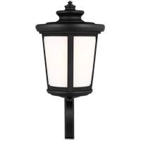Sea Gull 8819401-12 Eddington 1 Light 20 inch Black Outdoor Wall Lantern