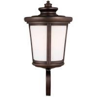 Sea Gull 8819401-71 Eddington 1 Light 20 inch Antique Bronze Outdoor Wall Lantern