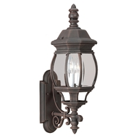 Wynfield 2 Light 8 inch Tawny Bronze Wall Lantern Wall Light