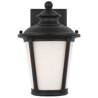 Sea Gull 88240-12 Cape May 1 Light 11 inch Black Outdoor Wall Lantern