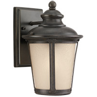 Sea Gull 88240-780 Cape May 1 Light 10 inch Burled Iron Outdoor Wall Lantern in Not Darksky Compliant