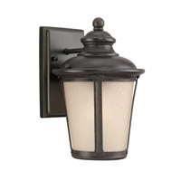 Cape May 1 Light 11 inch Burled Iron Outdoor Wall Lantern
