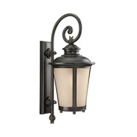 Sea Gull 88242EN3-780 Cape May 1 Light 26 inch Burled Iron Outdoor Wall Lantern