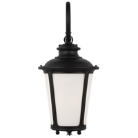 Sea Gull 88243-12 Cape May 1 Light 30 inch Black Outdoor Wall Lantern