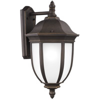 Sea Gull 8829301-71 Galvyn 1 Light 23 inch Antique Bronze Outdoor Wall Lantern