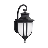 Childress 2 Light 36 inch Black Outdoor Wall Lantern