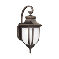 Childress 2 Light 36 inch Antique Bronze Outdoor Wall Lantern