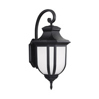 Childress LED 36 inch Black Outdoor Wall Lantern