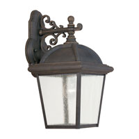 Sea Gull Lighting Charleston 1 Light Outdoor Wall Lantern in Gold Patina 8844-85 photo thumbnail