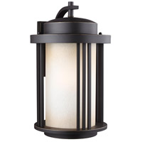 Sea Gull 8847901-71 Crowell 1 Light 20 inch Antique Bronze Outdoor Wall Lantern