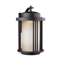 Crowell LED 20 inch Antique Bronze Outdoor Wall Lantern in Darksky Compliant