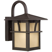Medford Lakes 1 Light 11 inch Statuary Bronze Outdoor Wall Lantern in Standard