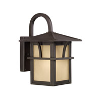 Medford Lakes 1 Light 11 inch Statuary Bronze Outdoor Wall Lantern