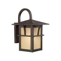 Medford Lakes 1 Light 14 inch Statuary Bronze Outdoor Wall Lantern