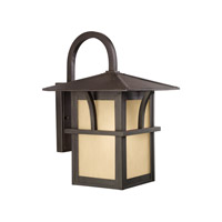 Sea Gull 88882EN3-51 Medford Lakes 1 Light 17 inch Statuary Bronze Outdoor Wall Lantern photo thumbnail