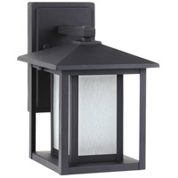 Sea Gull 8902997S-12 Hunnington LED 11 inch Black Outdoor Wall Lantern