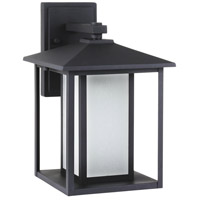 Sea Gull 8903197S-12 Hunnington LED 14 inch Black Outdoor Wall Lantern