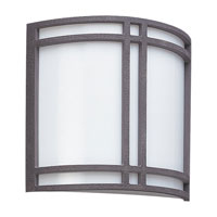 Piedmont 2 Light 11 inch Olde Iron Outdoor Wall Lantern in No Photocell