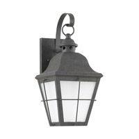 Sea Gull 89062EN3-46 Chatham 1 Light 15 inch Oxidized Bronze Outdoor Wall Lantern