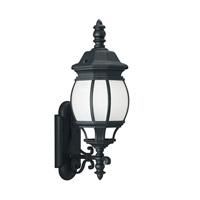 Sea Gull 89103EN3-12 Wynfield 1 Light 24 inch Black Outdoor Wall Lantern