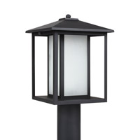 Hunnington 1 Light 15 inch Black Post Lantern