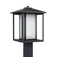 Sea Gull 89129EN3-12 Hunnington 1 Light 15 inch Black Post Lantern