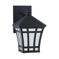Herrington 1 Light 10 inch Black Outdoor Wall Lantern