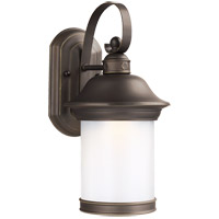 Sea Gull 89181DEN3-71 Hermitage 1 Light 14 inch Antique Bronze Outdoor Wall Lantern