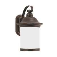 Sea Gull 89192-71 Hermitage 1 Light 15 inch Antique Bronze Outdoor Wall Lantern