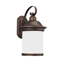 Sea Gull 89193-71 Hermitage 1 Light 20 inch Antique Bronze Outdoor Wall Lantern