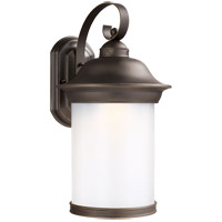 Sea Gull 89193DEN3-71 Hermitage 1 Light 20 inch Antique Bronze Outdoor Wall Lantern