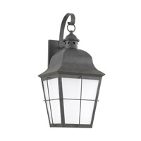 Chatham 1 Light 21 inch Oxidized Bronze Outdoor Wall Lantern