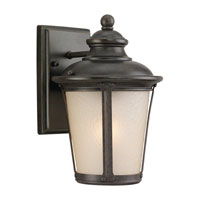 Sea Gull 89340BLE-780 Cape May 1 Light 10 inch Burled Iron Outdoor Wall Lantern in Energy Efficient photo thumbnail
