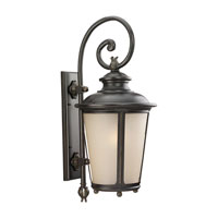 Sea Gull 89343BLE-780 Cape May 1 Light 30 inch Burled Iron Outdoor Wall Lantern in Energy Efficient photo thumbnail