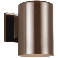 Bullets 7 inch Bronze Outdoor Wall Lantern