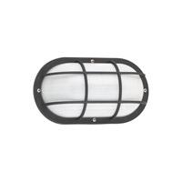 Sea Gull 89806-12 Bayside 1 Light 5 inch Black Outdoor Wall Lantern