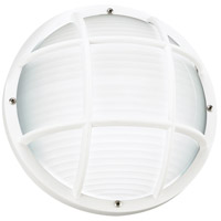 Bayside 1 Light 5 inch White Outdoor Wall Lantern
