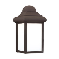 Mullberry Hill LED 9 inch Bronze Outdoor Wall Lantern