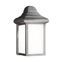 Mullberry Hill LED 9 inch Pewter Outdoor Wall Lantern
