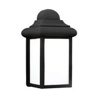 Sea Gull 8988EN3-12 Mullberry Hill 1 Light 9 inch Black Outdoor Wall Lantern
