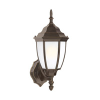 Bakersville 1 Light 16 inch Heirloom Bronze Outdoor Wall Lantern
