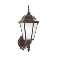 Sea Gull 89941EN3-782 Bakersville 1 Light 17 inch Heirloom Bronze Outdoor Wall Lantern