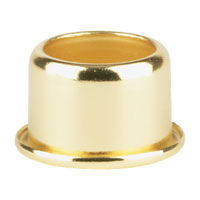 Sea Gull Lighting Candle Follower Polished Brass Candle Follower 9030-02 photo thumbnail