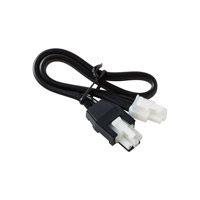Sea Gull Lighting Ambiance Self-Contained Xenon 12in 120V Xenon Connector Cord in Black 90843-12