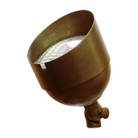 Sea Gull Lighting Imperial 1 Light Landscape Light in Weathered Brass 91012-147