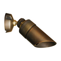 Sea Gull Lighting Meridian 1 Light Landscape Light in Weathered Brass 91107-147